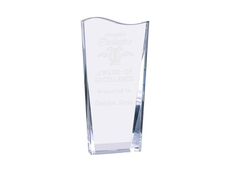 Crystal Award, Personalized Crystal Award, Professional Award, Appreciation Gift