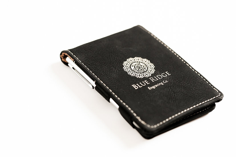 Personalized Leatherette Pocket Notepad