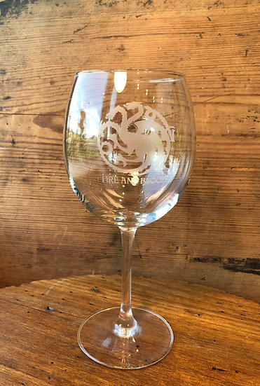 Engraved Wine Glass, Personalized Wine Glass, Gift for Wine Lovers