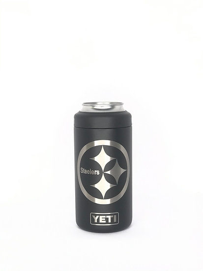 Custom Engraved YETI Colster Slim & Tall Boys, Vacuum Sealed Bottle Chiller