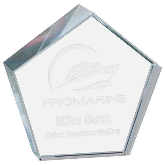 Personalized Crystal Paperweight, Personalized Engraved, Promotional Gifts