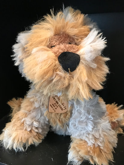 "Personalized Plush ""Fuzzball"" Pound Puppy"
