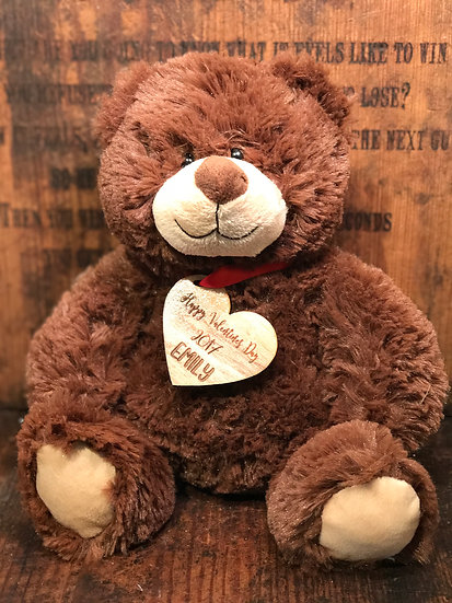 Personalized Classic Brown Bear