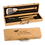 Thumbnail: 3 Piece BBQ Gift Set in Bamboo Box, Gifts for Him, Family Gifts