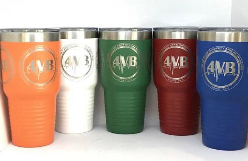 "Custom Engraved 30oz Polar Camel Vacuum Sealed ""Yeti Style"" Tumblers w/Clear Lid"