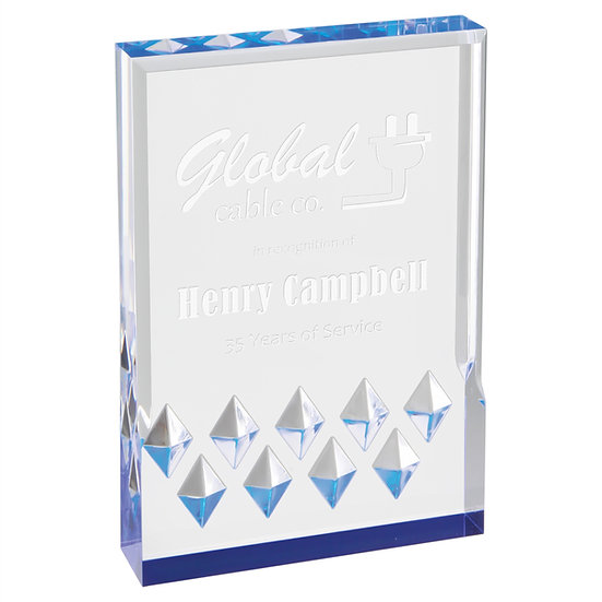 Custom Jewel Mirage Award, Professional Awards,Recognition, Promotional Gifts