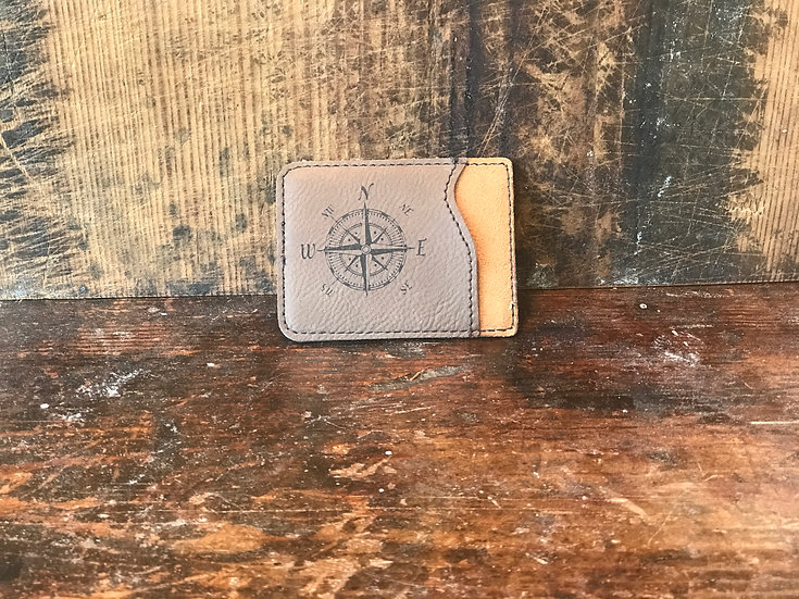 Personalized Leatherette Phone Wallet