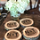 Thumbnail: Personalized Rustic Wood Coaster, Wedding Favors, Personalized Wedding Gift
