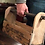 Thumbnail: Engraved Wooden Grooming Tote and Brushes, Personalized Equestrian Set