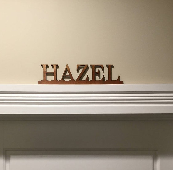 Personalized Name Plate, Wall Hangings, Wall Decor, Custom Name Tag