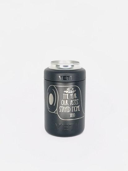 Custom Engraved 12oz YETI Colster, Vacuum Sealed Bottle Chiller