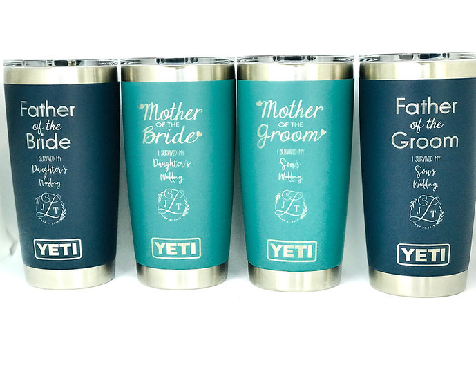 20oz Custom Engraved YETI Tumbler, Vacuum Sealed Tumblers,Custom Travel Mug
