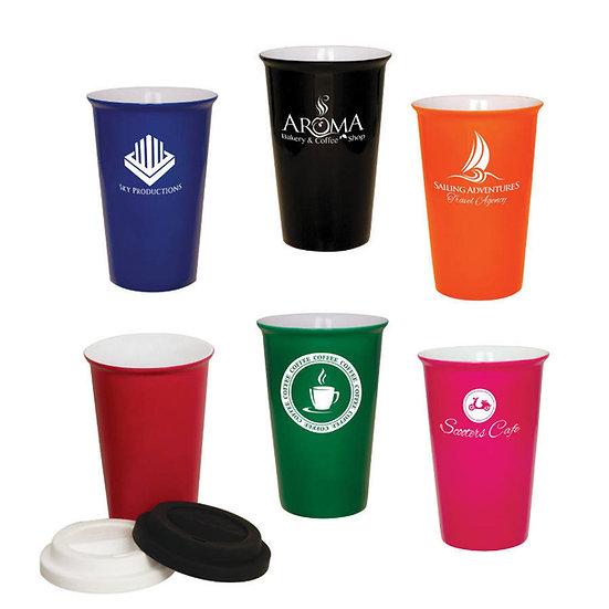 Personalized 14oz Latte Mug, Engraved Drinkware, Customized Mug,Personalized
