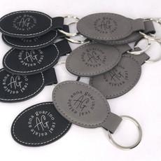 Vegan Friendly Leatherette Key Chains