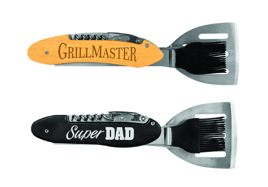 Personalized BBQ Tools, Custom Grill Tool Set, Personalized Grilling Utensils