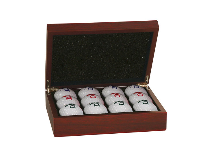 Golf Ball Collection Case, Gifts for Him, Gifts for Her, Personalized Engraved
