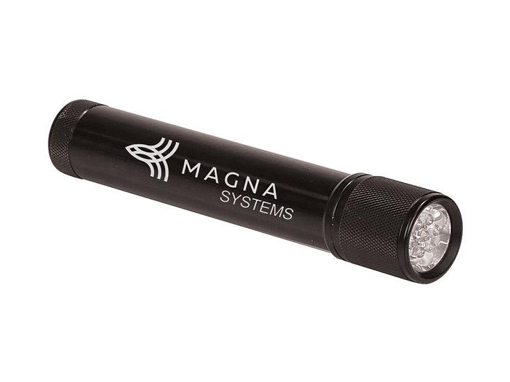 "7-LED Flashlight, Fathers Day Gift, Houseware, Personalized 7 3/4"""