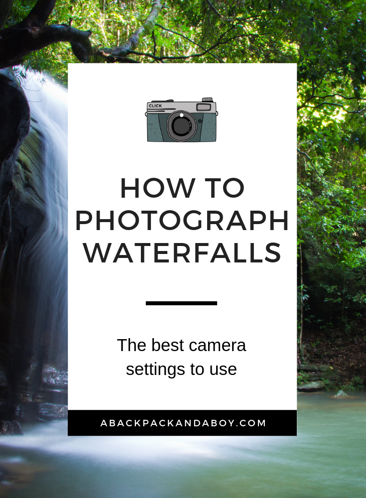 Learn how to photograph waterfalls