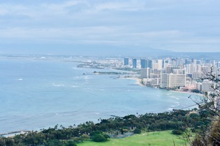 Diamond Head Honolulu Hawaii