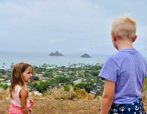 Lanikai Pillbox Hike, Hawaii