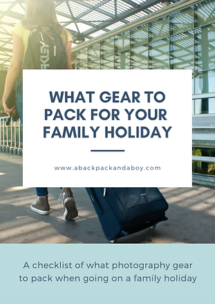 What photography gear to pack for your f