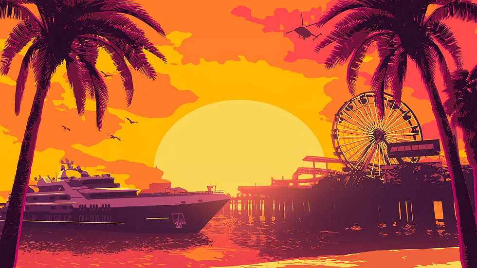 GTA Summer Special DLC - Clean Wallpaper