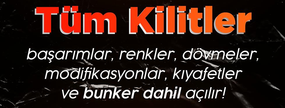 Tüm Kilitler [Unlocks]