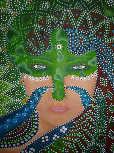 Snake Woman (close up)