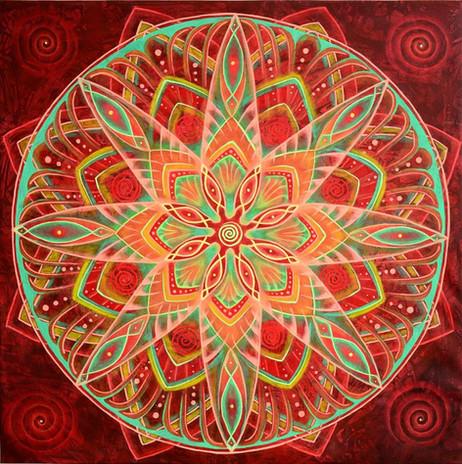 Feuer Mandala