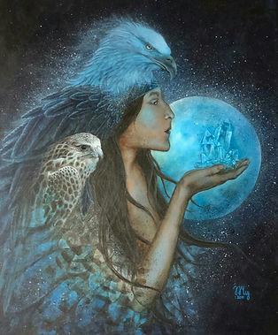 Spirit Animal Art, Shamanic Art, Shamanism, Spiritual Art