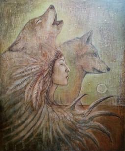 Träumen mit Wölfen