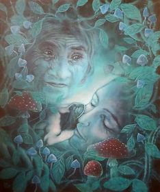Soul Painting, Soul Portrait, Spiritual Art, Shamanic Art, Shamanism