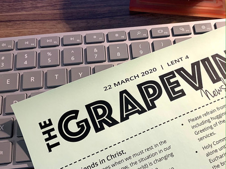 The Grapevine for Sunday March 22