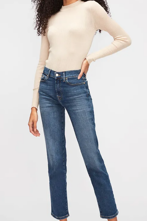 7 For All Mankind The Straight Crop JSYX440NN