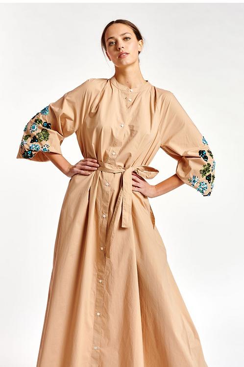 Essentiel Zum Belted Maxi Dress Summer Mille Feuille Z2MF