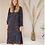 Thumbnail: Poppy  Dress Blue Panter Print