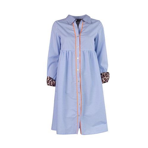 Leeandme Ete Shirtdress Stipes Blue