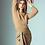 Thumbnail: Rennes Twill Soft Camel Skirt
