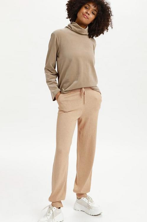 LN Ballou Knit Pants  Safari Melange 10607731