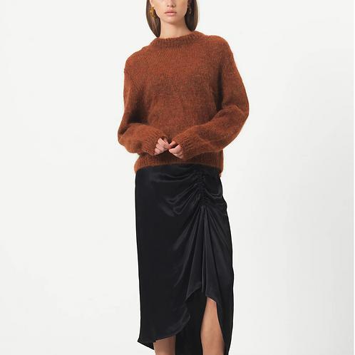 lily Midi Skirt Black