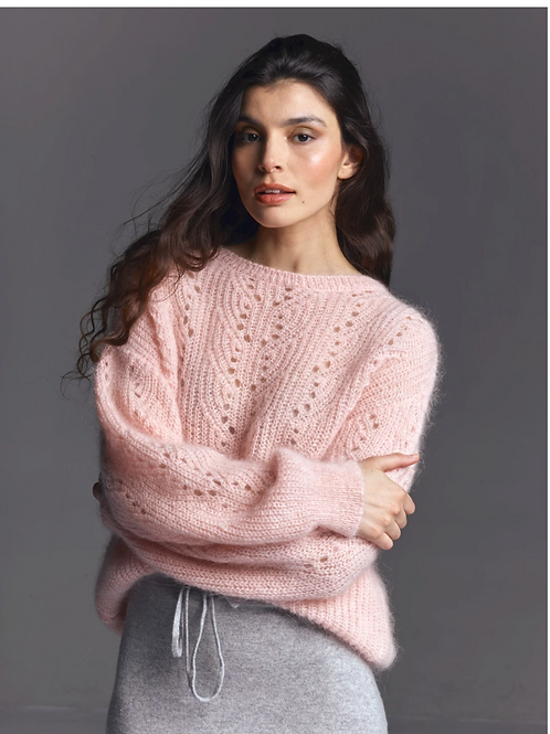 Young Knit Pull Pink