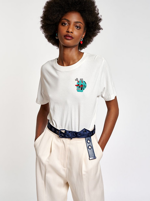 Essentiel Ziland T-Shirt With Embo