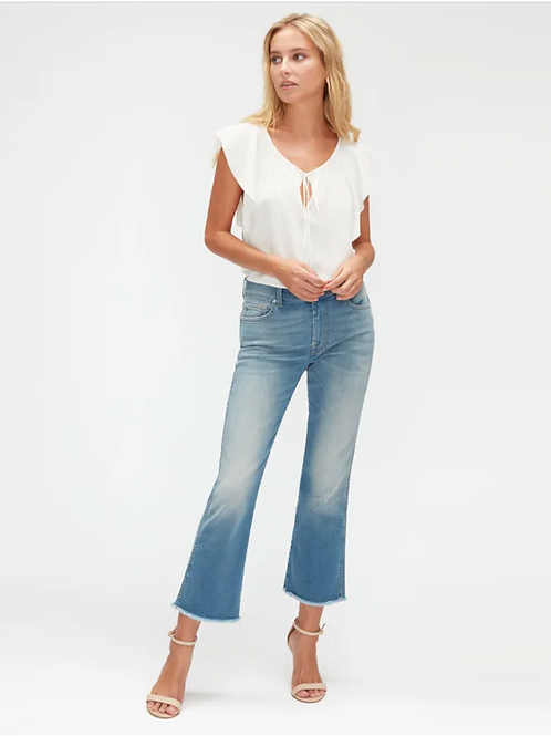 7 for All Mankind Cropped Boot Slim Illusion Necessify