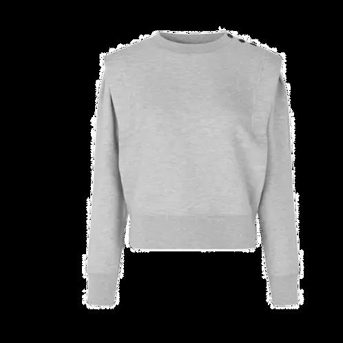 Priscilla Sweat Grey Melange 55059