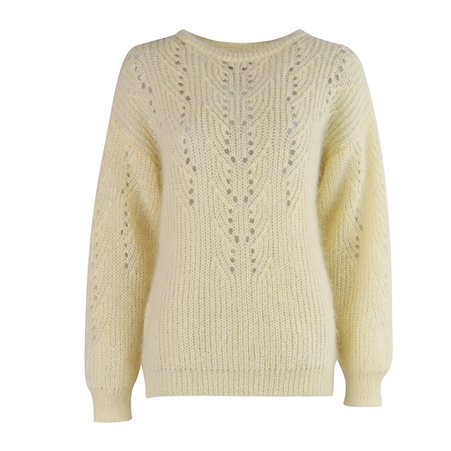 Young Knit Pull Soft Yellow