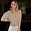 Thumbnail: Gilet Nick Short Sleeves Kristal Buttons Beige
