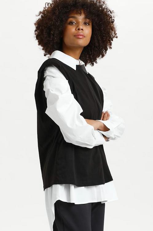 L.N T'Shirt Organic Cotton Black. 10608219