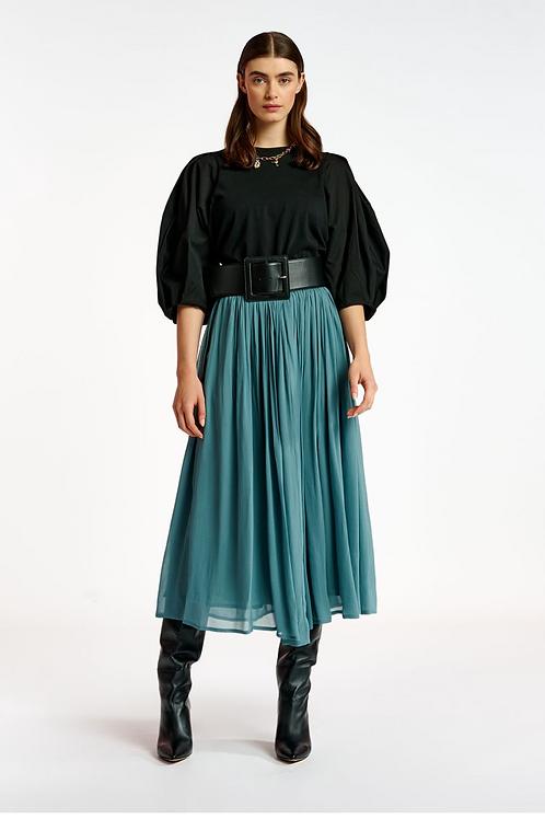 Essentiel Arden Maxi Skirt FB05 Blauw