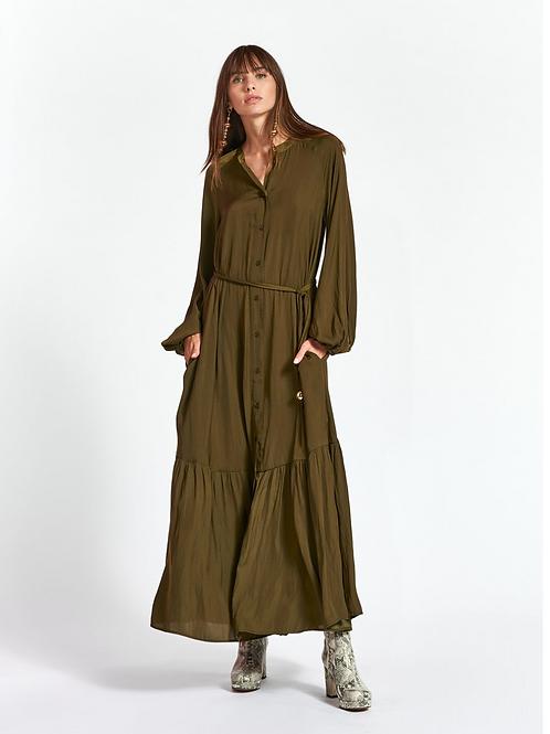 Essentiel Zinchilla Maxi Dress Jungle Green