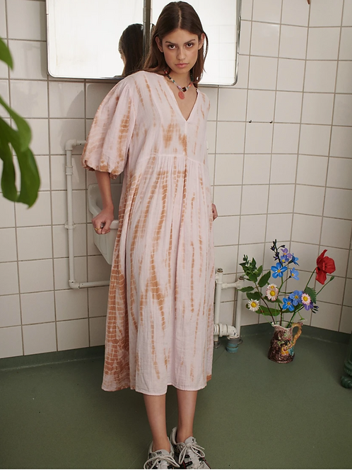 Venice Tie Dye Dress Sissel Edelbo ORGANIC COTTON